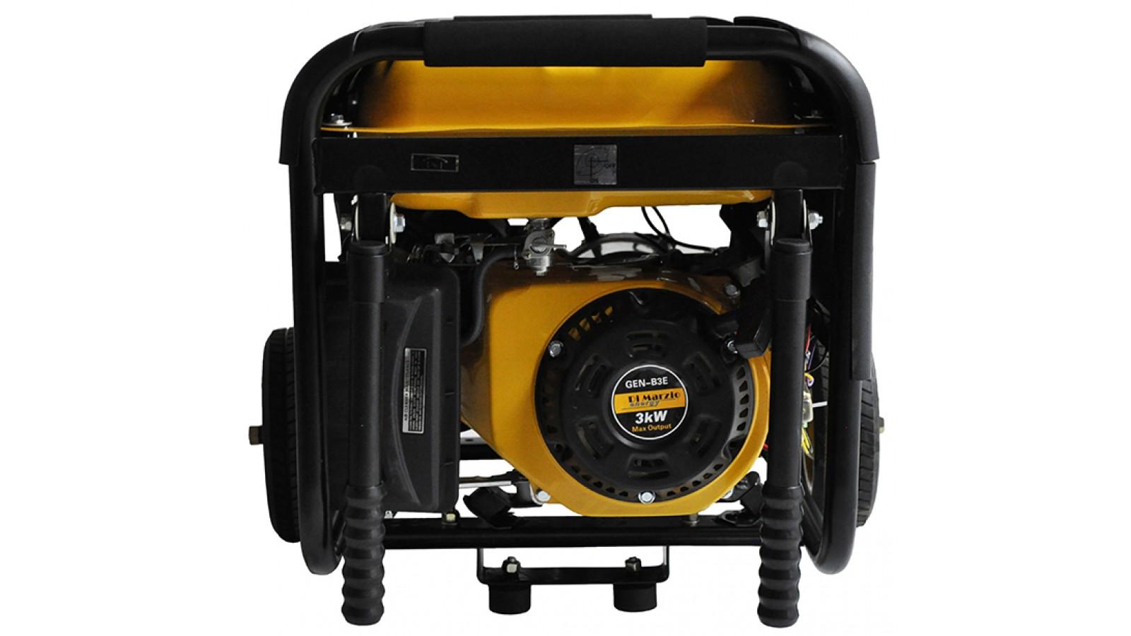 Generatore di corrente 3 KW Benzina - Gruppo elettrogeno Avviamento elettrico