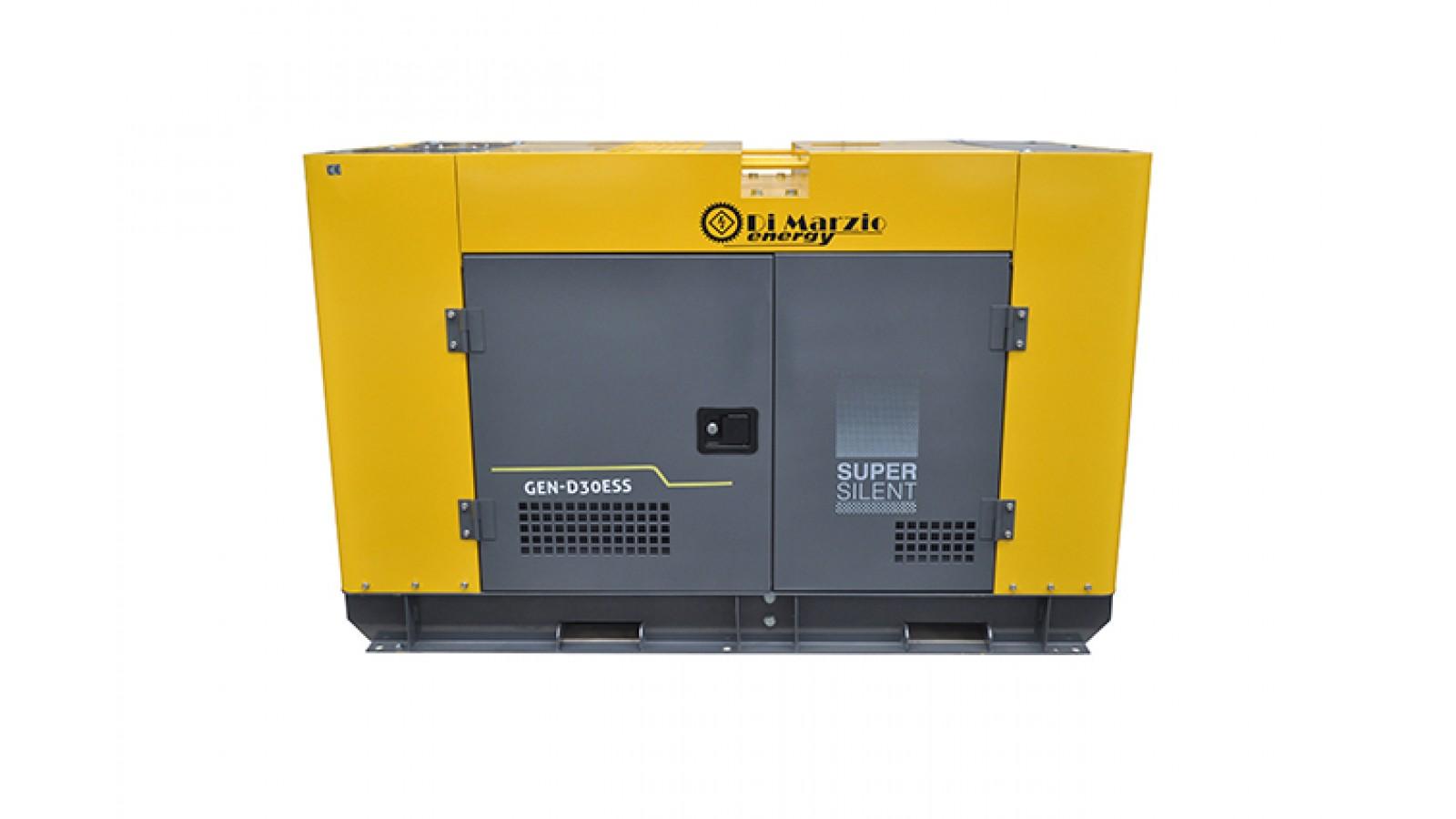 generatore di corrente 30 kw diesel avviamento