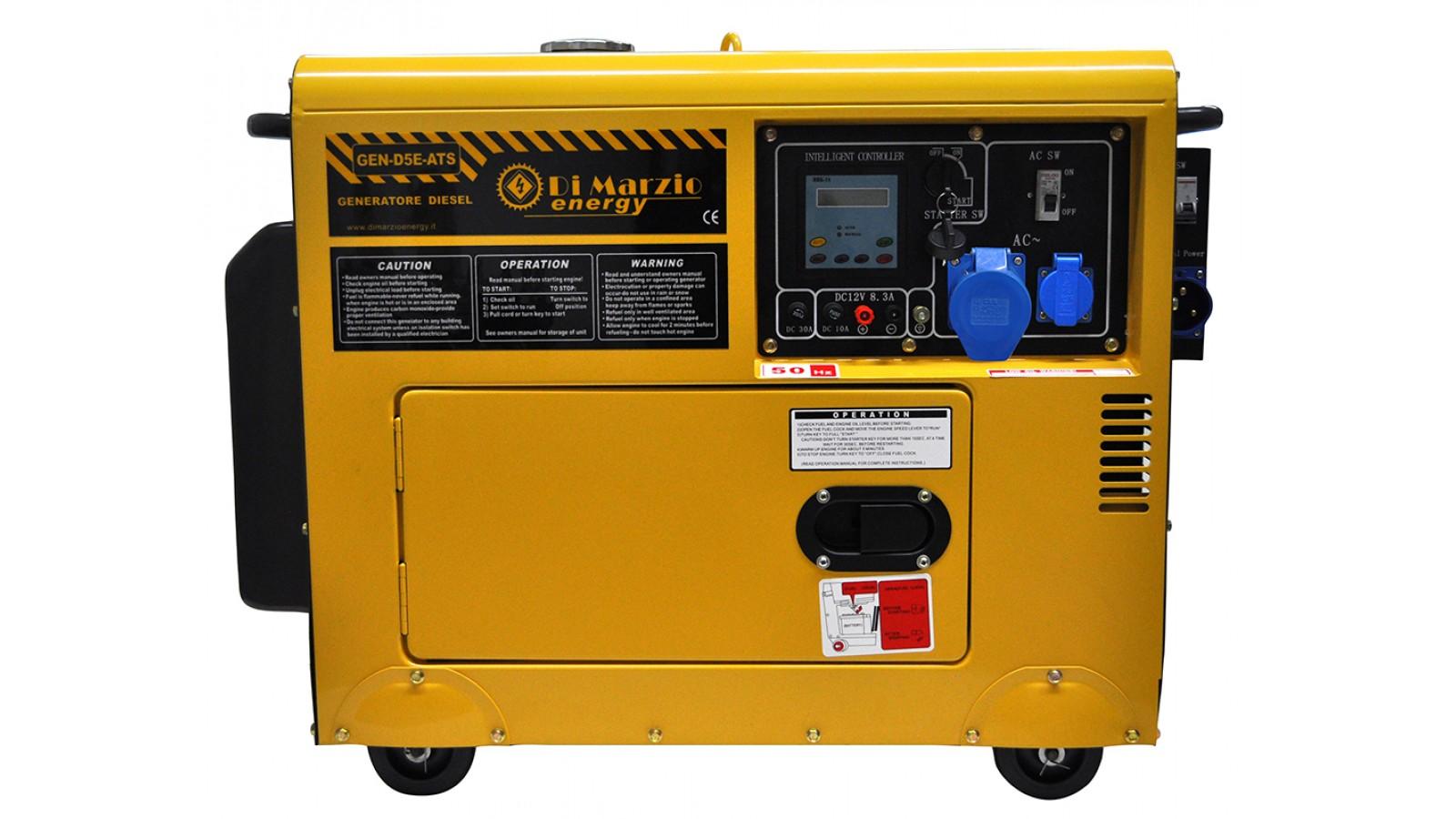 Generatore di corrente diesel 4 5 kw gruppo elettrogeno for Generatore di corrente diesel usato