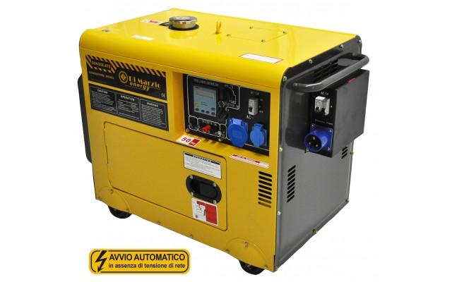 Generatore di corrente diesel 4 5 kw gruppo elettrogeno for Generatore di corrente con avviamento automatico