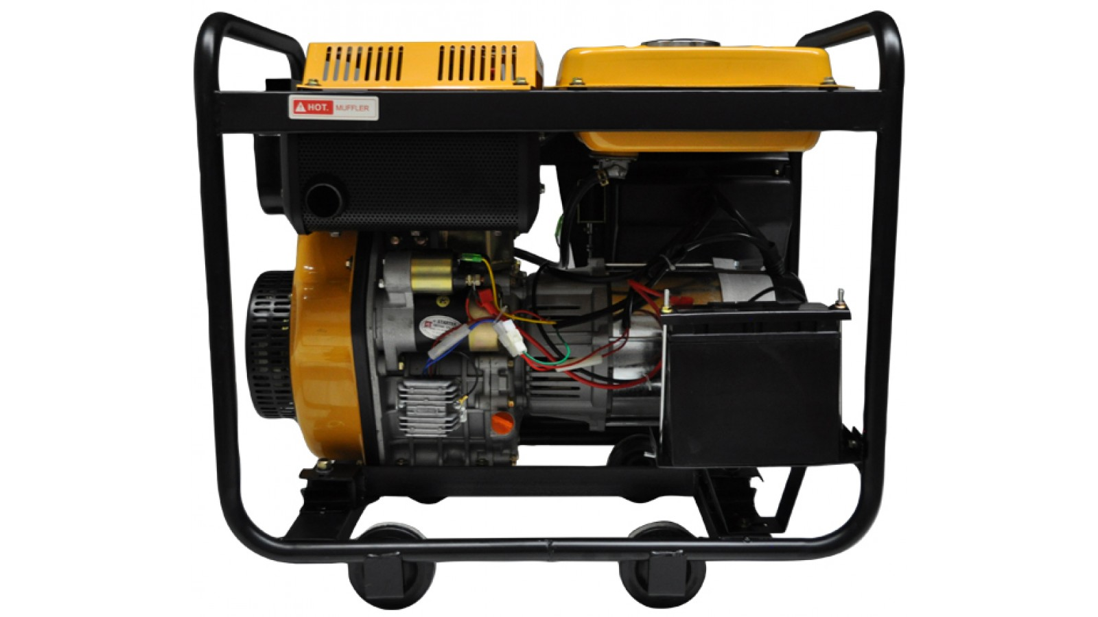 Generatore di corrente 6 kw diesel gruppo elettrogeno for Gruppo elettrogeno 3 kw avviamento automatico