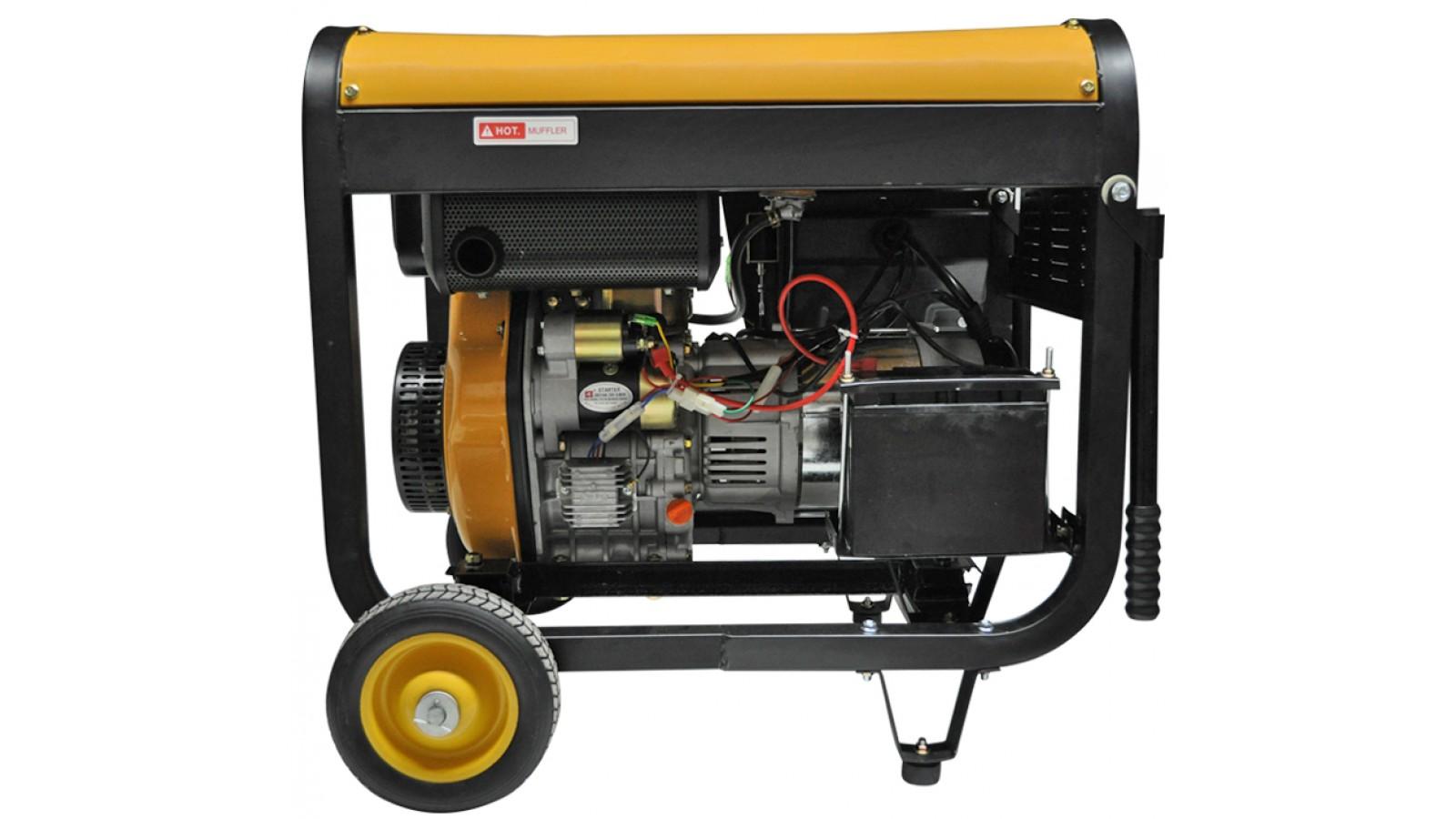 Generatore di corrente 4 5 kw diesel gruppo elettrogeno for Generatore di corrente 10 kw