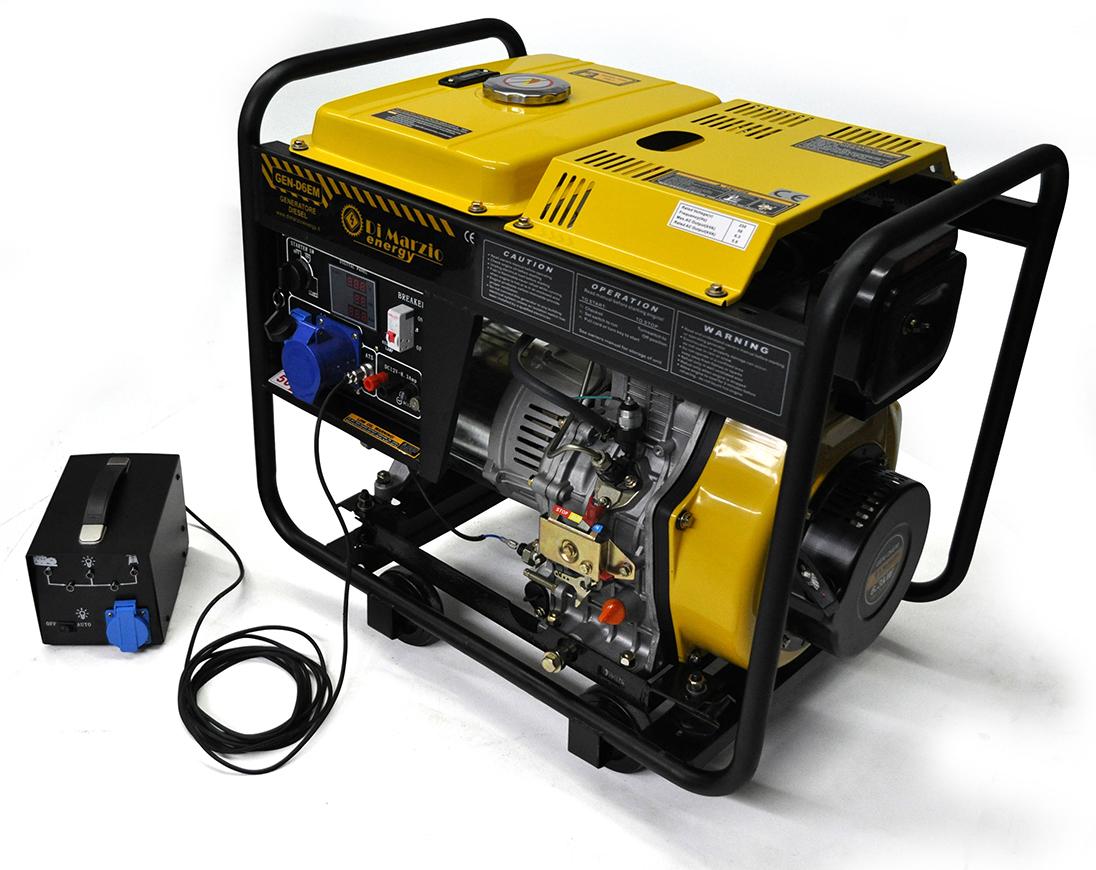 Generatore di corrente 30 kw diesel avviamento for Generatore di corrente con avviamento automatico