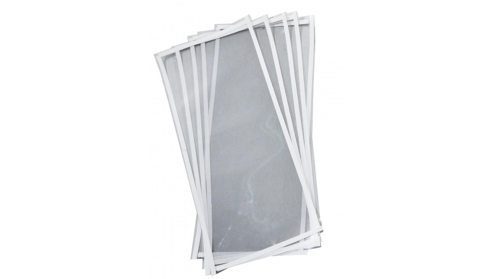 Set 10 pellicole protettive per schermo sabbiatrice 55x25 cm