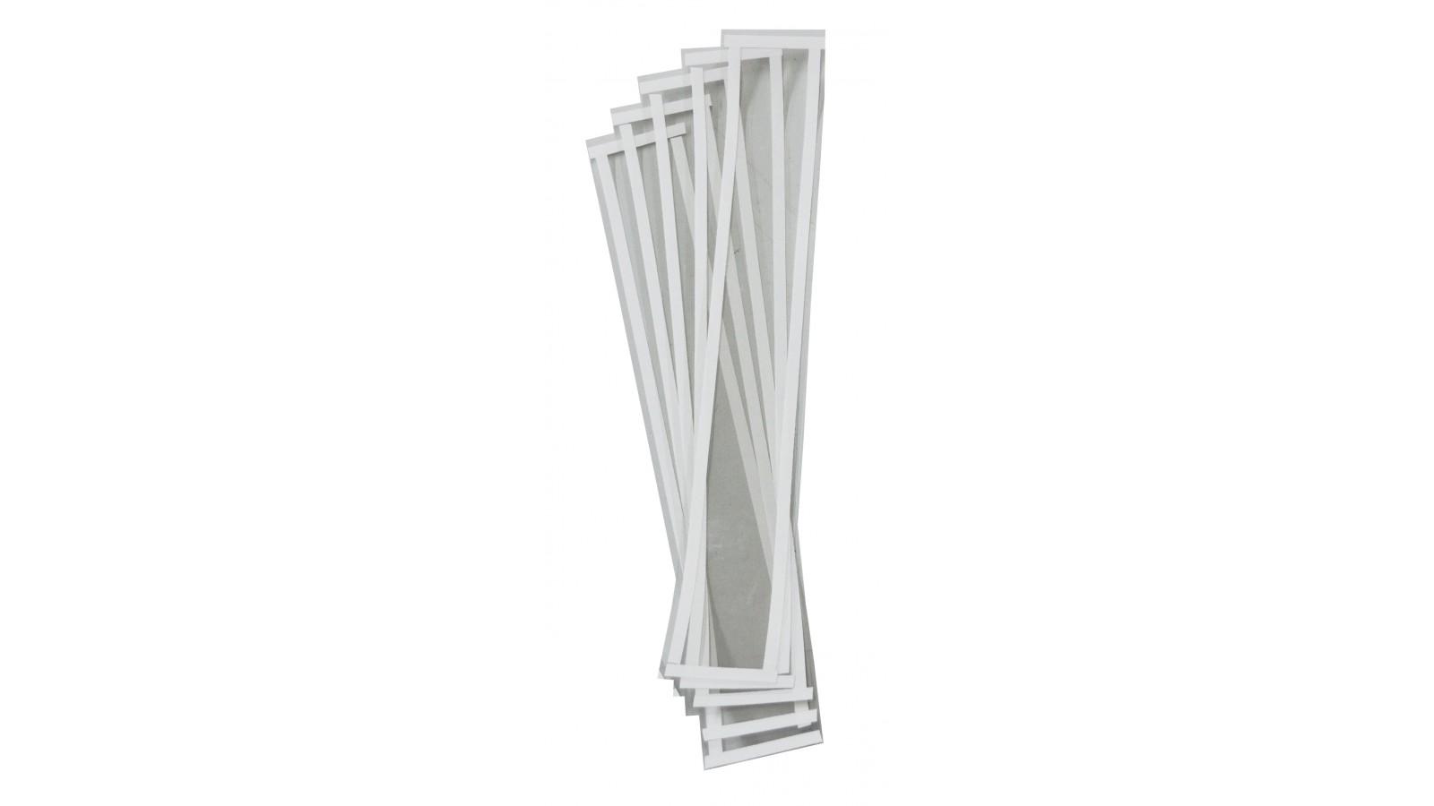 Set 10 pellicole protettive per plafoniera sabbiatrice 65x15 cm
