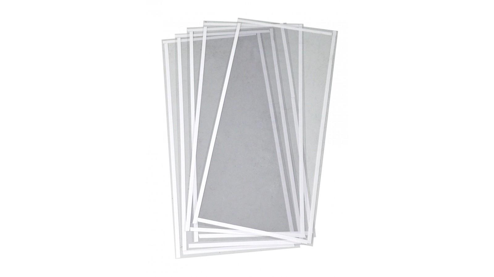 Set 10 pellicole protettive per schermo sabbiatrice 67x30 cm