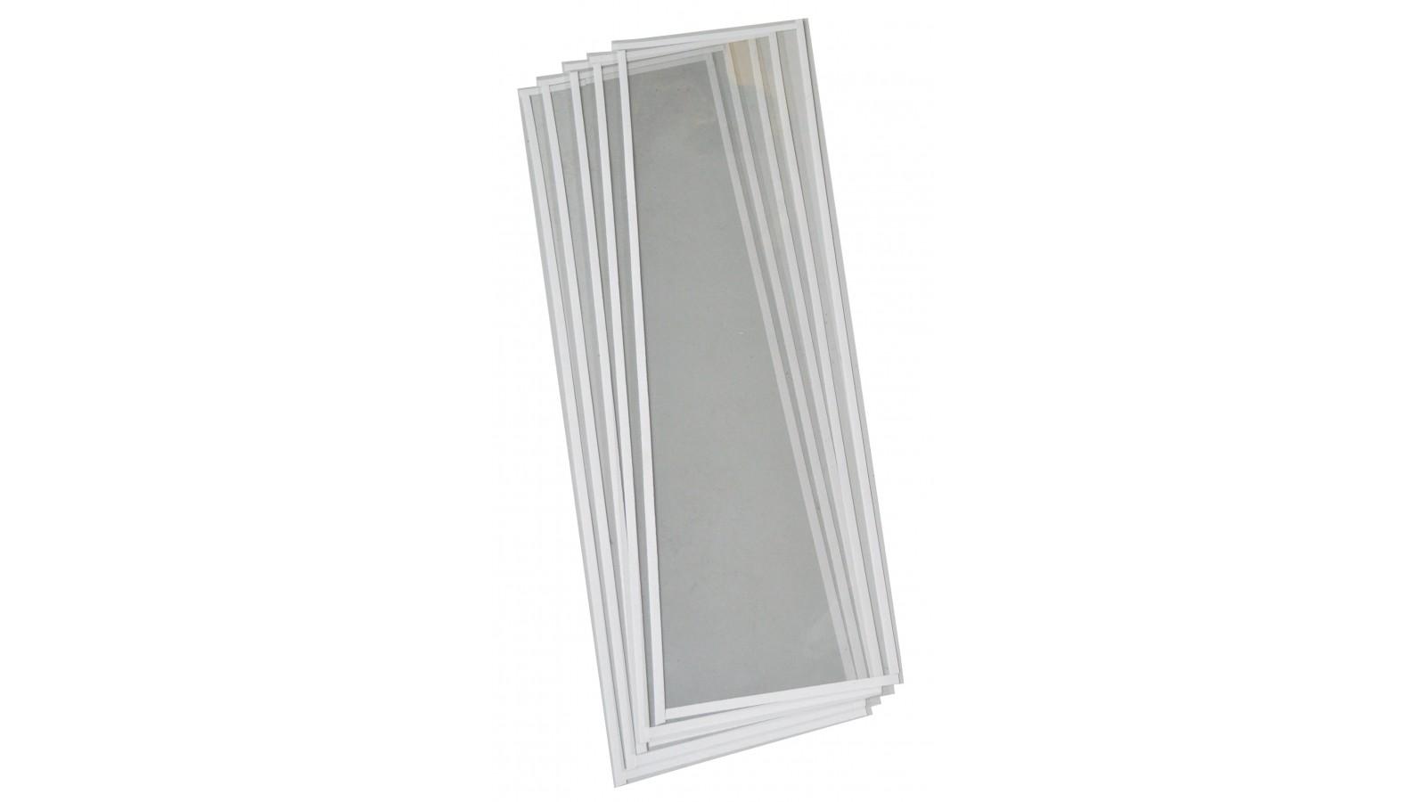 Set 10 pellicole protettive per plafoniera interna sabbiatrice 90x26 cm