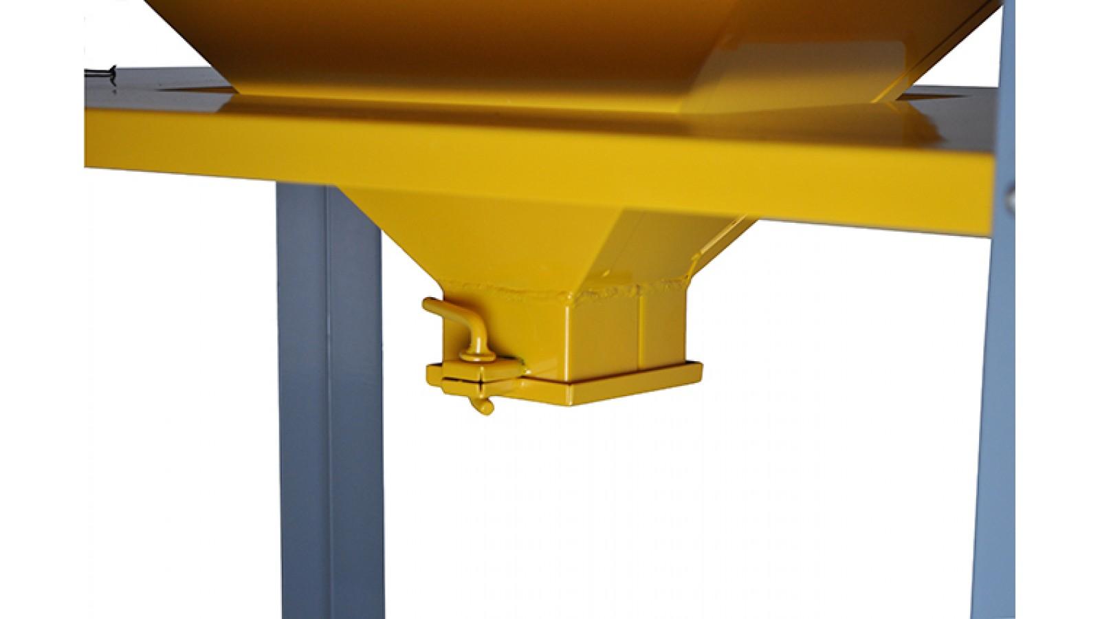 Sabbiatrice  professionale con plafoniera a doppia lampada - cabina di sabbiatura con accessori