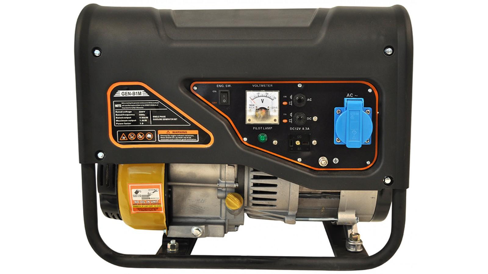 Generatore di corrente 1KW Benzina - Gruppo elettrogeno Avviamento manuale