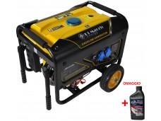 Generatore di corrente 2 KW Benzina - Gruppo elettrogeno Silenziato Avviamento elettrico