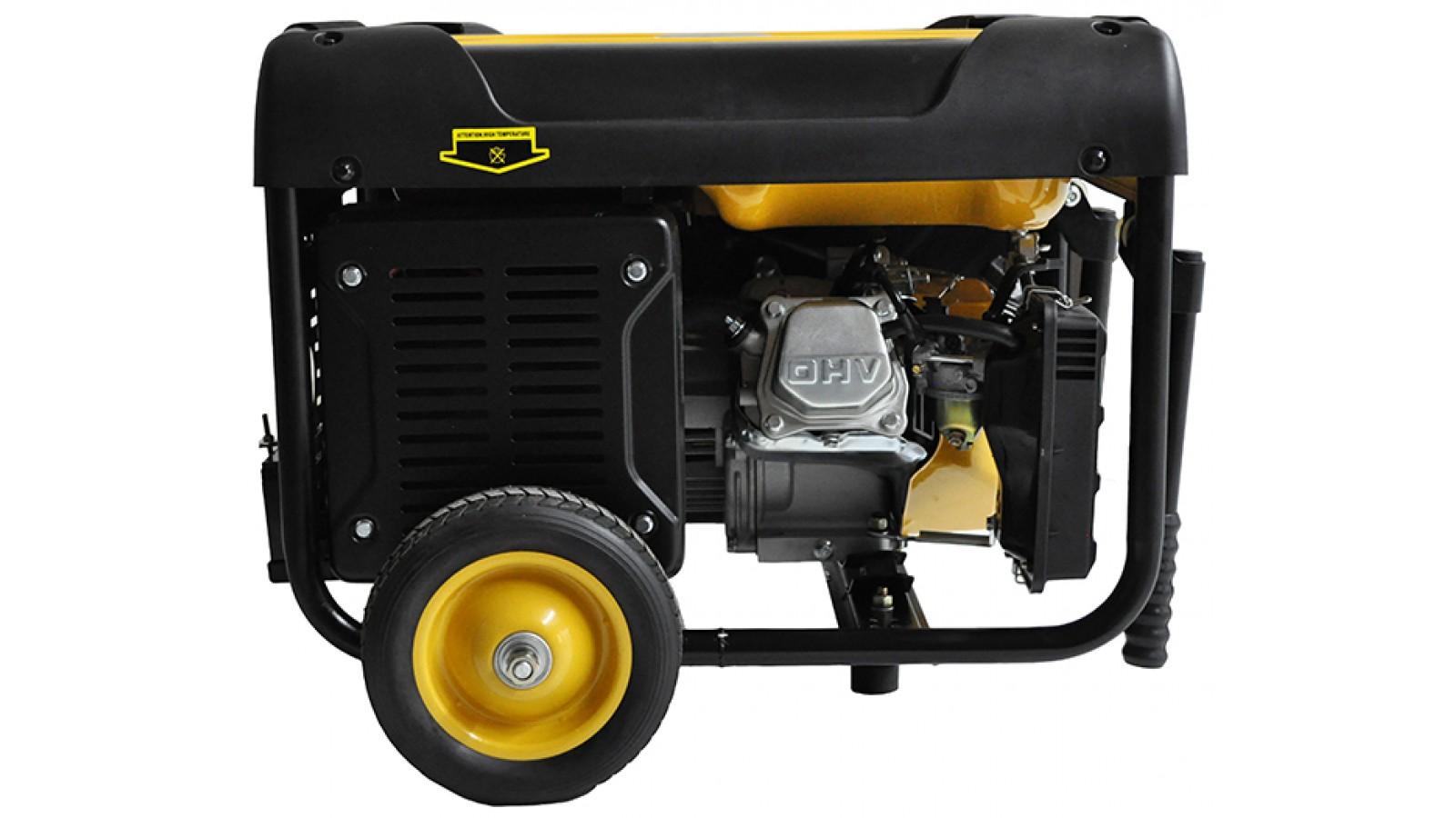 Generatore di corrente 3 kw benzina - gruppo elettrogeno avviamento con telecomando
