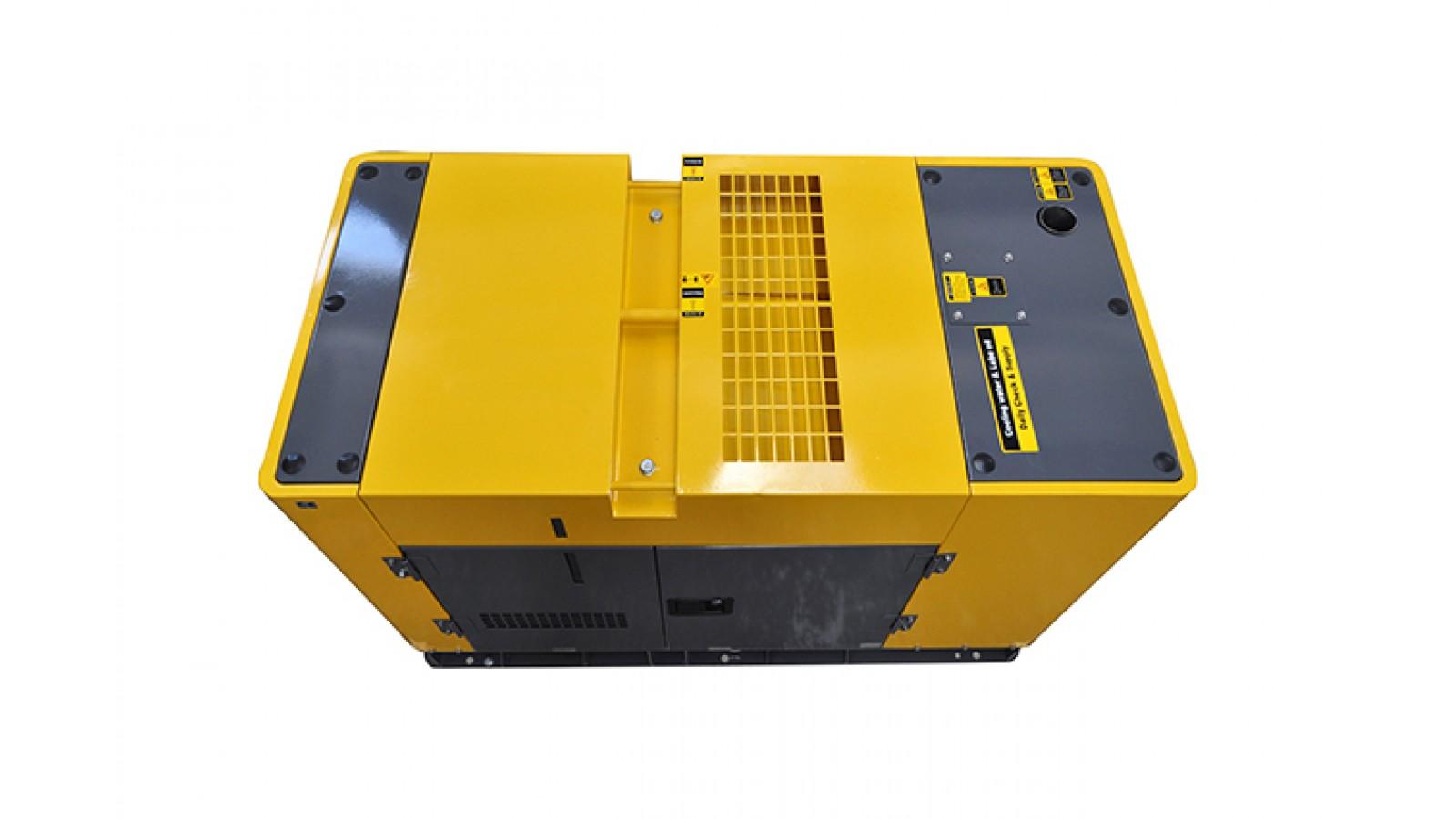 Generatore di corrente Diesel 50 KW - Avviamento automatico - Gruppo elettrogeno Super Silenziato