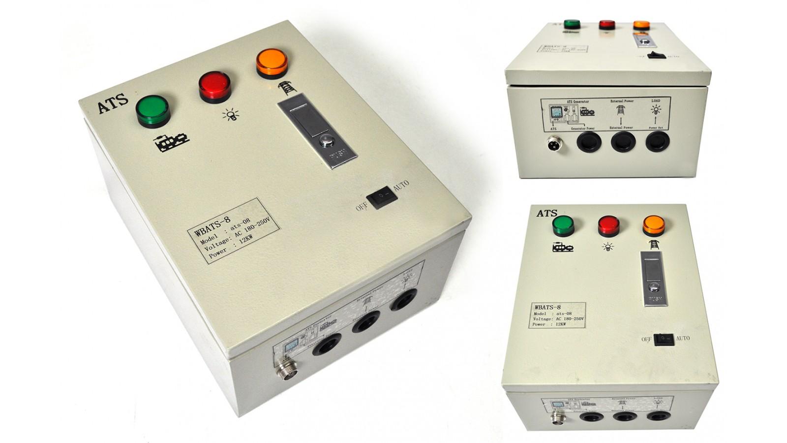 Generatore di corrente 6 kw diesel - gruppo elettrogeno avviamento elettrico - sistema ATS